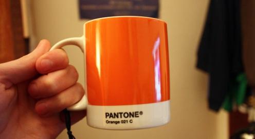 Orange Pantone Mug